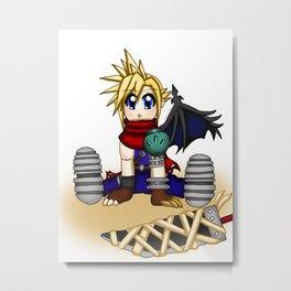 Lil' Cloud (Kingdom Hearts) Metal Print