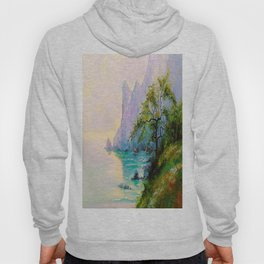 Morning by the sea Hoody