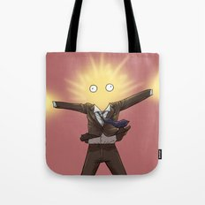 With a BANG - Doctor Who Tote Bag