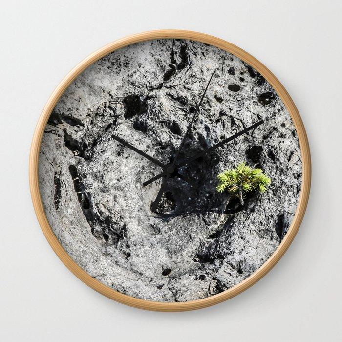 Life Will Find A Way Wall Clock