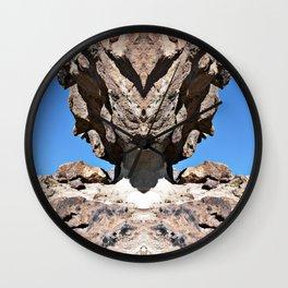 Screech Owl Wall Clock