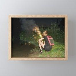Kaboom! Framed Mini Art Print