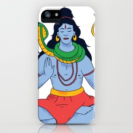 Shiva Gottheit iPhone Case