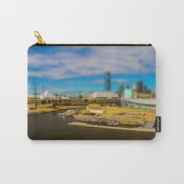 Oklahoma River by Monique Ortman Carry-All Pouch