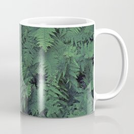 Fern Leaf Pattern Coffee Mug
