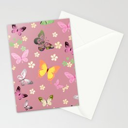 Butterfly 3 Stationery Cards