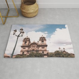 Blue Sky in The City Rug