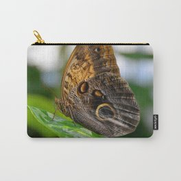 Owl Eye Butterfly by Teresa Thompson Carry-All Pouch