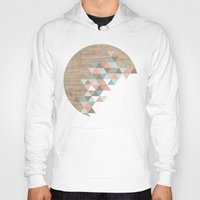geometric Hoodies featuring Archiwoo by Marta Li