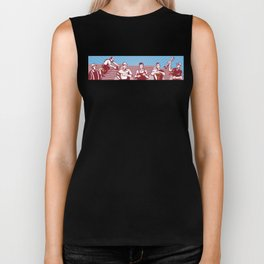 Construction Workers Tradesman Retro Biker Tank