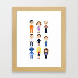 The Bluth Family Framed Art Print