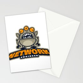 Best Network Administrator Stationery Cards