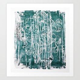POLYCEPHALY Art Print