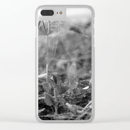 Under the Webbed Sea Clear iPhone Case