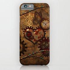 Steampunk, noble design Slim Case iPhone 6