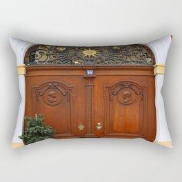 Beautiful Old Door Rectangular Pillow