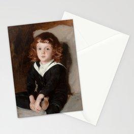 """John Singer Sargent """"Portrait of Laurence Millet"""" Stationery Cards"""
