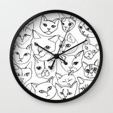 Cats! Wall Clock