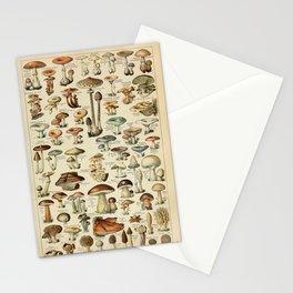 Adolphe Millot - Nouveau Larousse Illustré - Champignons (Mushrooms and Fungi) (1910) Stationery Cards