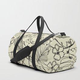Tropical doodle Duffle Bag