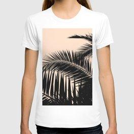 Palms on Pale Pink T-shirt