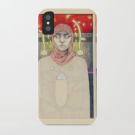 The belief in what i can't see with my own eyes iPhone Case