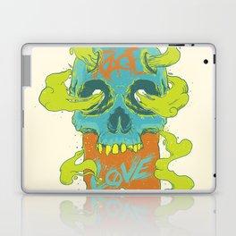 Rage Love Skull Laptop & iPad Skin