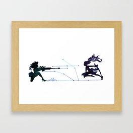Battle field  Framed Art Print