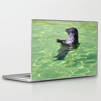 seal Laptop & iPad Skins featuring seal by  Agostino Lo Coco