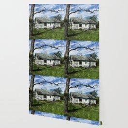 Textured Cottage Wallpaper