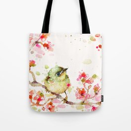Mr Fluffy Pants (bird) Tote Bag