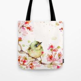 Mr Fluffy Pants (bird) Tote Bag