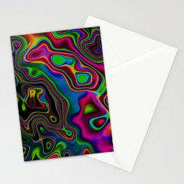 Vibrant Fantasy 7 Stationery Cards