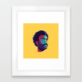 Hey Donald Framed Art Print
