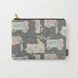 Flower Fracas Carry-All Pouch