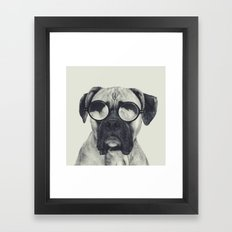 hawt dawg Framed Art Print