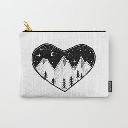 Mountainous Love Carry-All Pouch