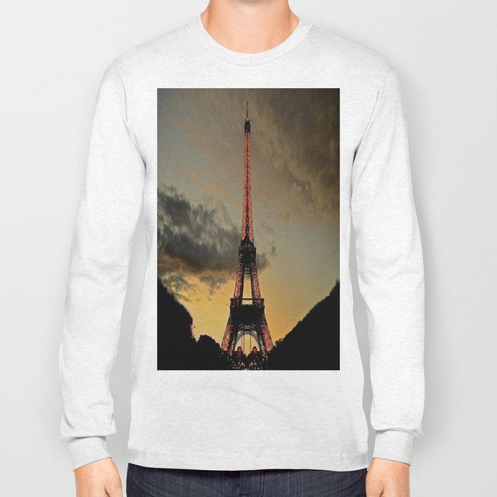 Tower Sunset Long Sleeve T-shirt