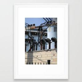 function junction  Framed Art Print