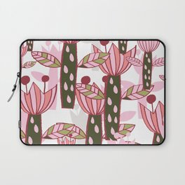 flower pink contemporary kids nursery Laptop Sleeve