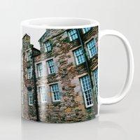 scotland Mugs featuring Scotland Stones  by Lauren Fobes