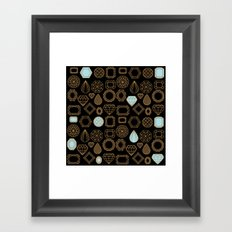 Gems #3 Framed Art Print