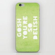 Gosh (Delish)  iPhone & iPod Skin