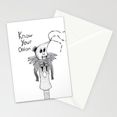 Know Your Onion Stationery Cards