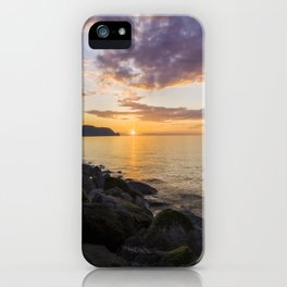 Great Orme Sunset iPhone Case