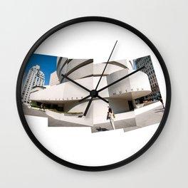 The Guggenheim – pieces of art Wall Clock