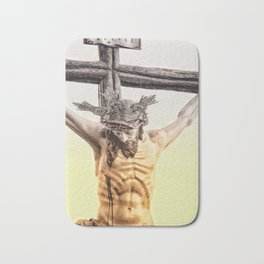 Jesus christ Bath Mat