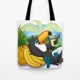 Tropical toucan Tote Bag