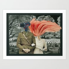 a marriage of convenience Art Print