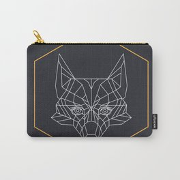 Gometric fox Carry-All Pouch